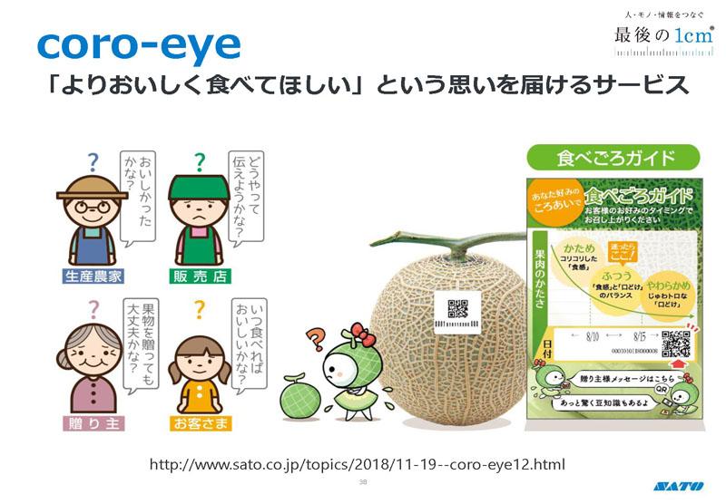 core-eye 「よりおいしく食べてほしい」という思いを届けるサービス
