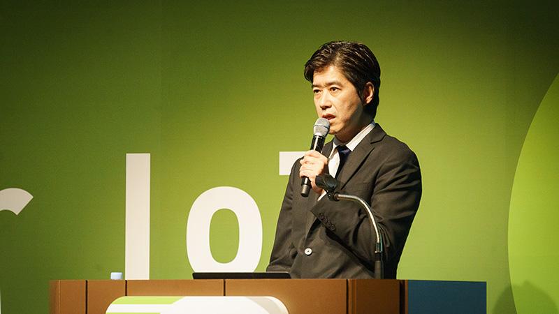 ソフトバンク株式会社 IoT事業推進本部 副本部長 桑原正光 氏