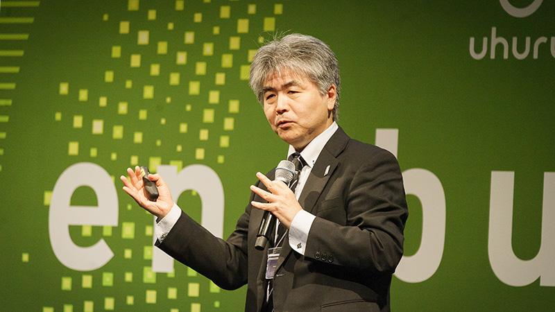 日本電気株式会社 エンタープライズビジネスユニット エグゼクティブディレクター 山田昭雄 氏