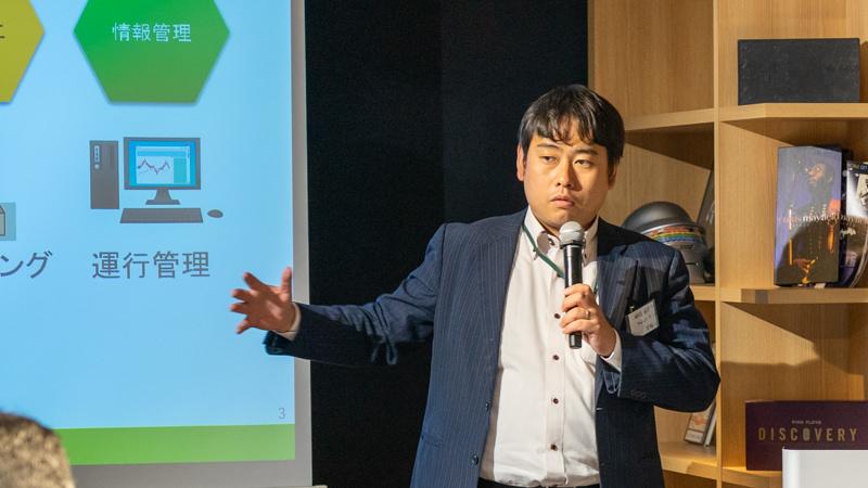 ユーピーアール株式会社 目黒 孝太朗氏